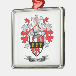 Murphy Coat of Arms Metal Ornament