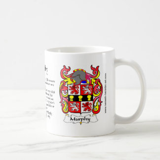Murphy Crest mug