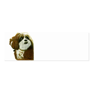 MURPHY doggie jGibney The MUSEUM Zazzle Gifts Pack Of Skinny Business Cards