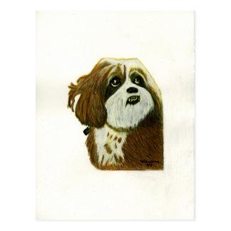 MURPHY doggie jGibney The MUSEUM Zazzle Gifts Postcard