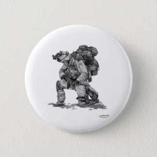 Murphy Elliott-Praying Soldier 2 Inch Round Button