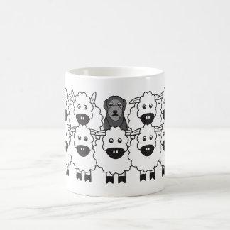 Murphy in the Sheep Coffee Mug