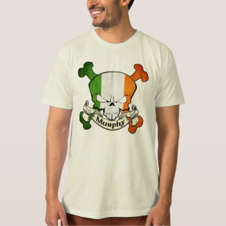 Murphy Irish Skull T-Shirt