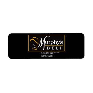 MURPHY'S DELI PROMO STICKER