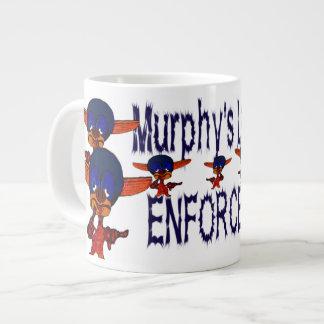 Murphy's Law Enforcer Large Coffee Mug