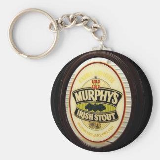 Murphys Stout Basic Round Button Keychain