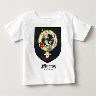Murray Clan Crest Badge Tartan Baby T-Shirt