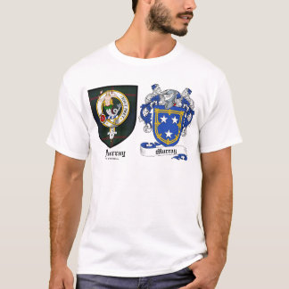 Murray Clan Crest & Murray Coat of Arms T-Shirt