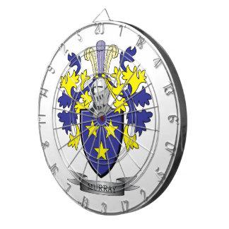 Murray Coat of Arms Dart Board