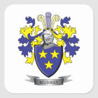 Murray Coat of Arms Square Sticker