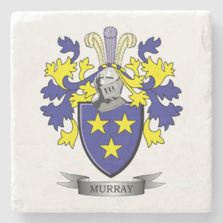 Murray Coat of Arms Stone Coaster
