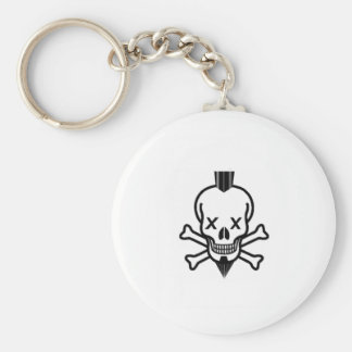 Murray Hill Outlaws Basic Round Button Keychain