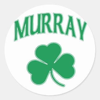 Murray Irish Classic Round Sticker