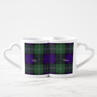 Murray of Atholl clan Plaid Scottish kilt tartan Coffee Mug Set