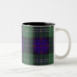 Murray of Atholl clan Plaid Scottish kilt tartan Two-Tone Coffee Mug