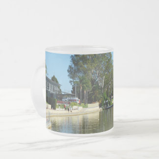 Murray River Renmark South Australia, Frosted Glass Coffee Mug