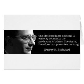 Murray Rothbard Card