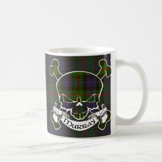 Murray Tartan Skull Coffee Mug