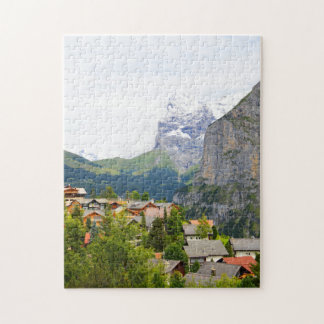 Murren in Switzerland Jigsaw Puzzle