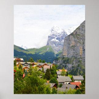 Murren in Switzerland Poster