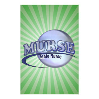 MURSE LOGO (MALE NURSE) STATIONERY