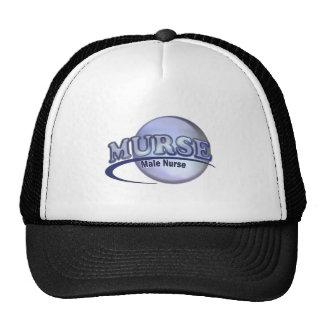 MURSE LOGO (MALE NURSE) TRUCKER HAT