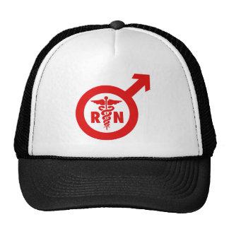 Murse Male Nurse Symbol Trucker Hat