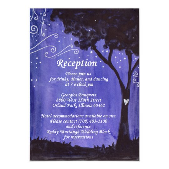 Murtaugh/Reddy Reception Card