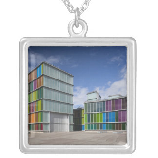 MUSAC, contemporary art museum 2 Silver Plated Necklace