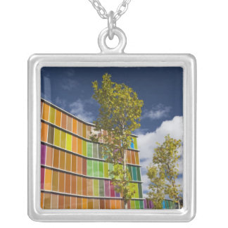 MUSAC, contemporary art museum Silver Plated Necklace