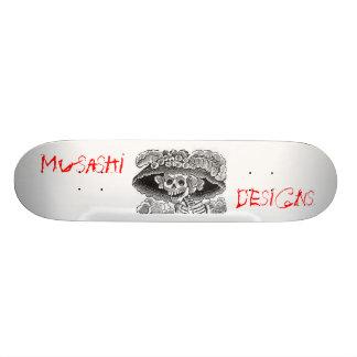 Musashi Designs Dem Bones Skate Board Deck