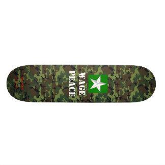 Musashi Designs Peace Custom Skateboard