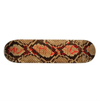 Musashi Designs Snakeskin Skate Board