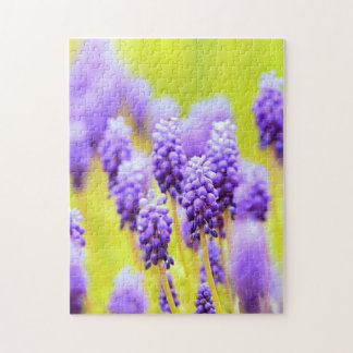 Muscari close-up puzzle. jigsaw puzzle
