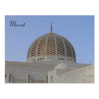 muscat dome postcard