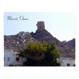muscat guard postcard
