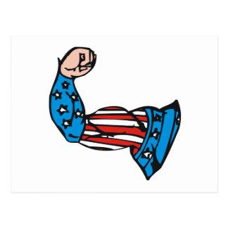 Muscle américain cartes postales