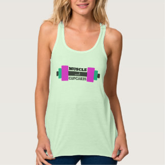 Muscle and Cupcake Tank