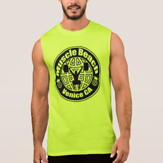 MUSCLE BEACH GEAR SLEEVELESS SHIRT