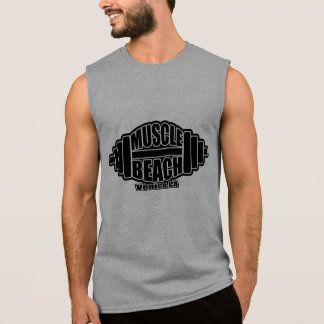 MUSCLE  BEACH SLEEVELESS SHIRT