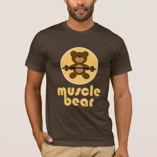 Muscle Bear Teddy Bear Cream T-Shirt