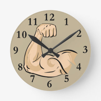 Muscle Building Clock