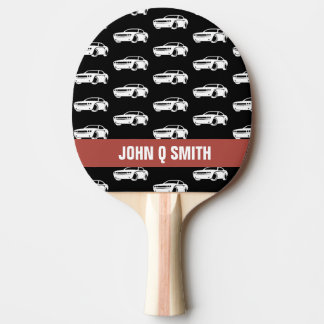Muscle Car Auto Repairman•Custom Ping Pong Paddle