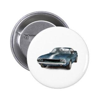 Muscle Car Pin