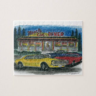 Muscle Car Diner puzzle