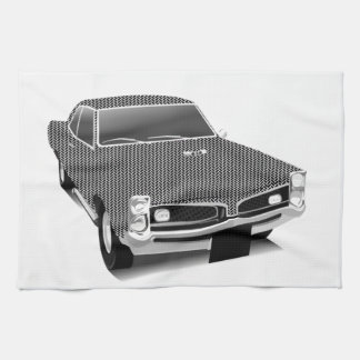 Muscle car kitchen towel