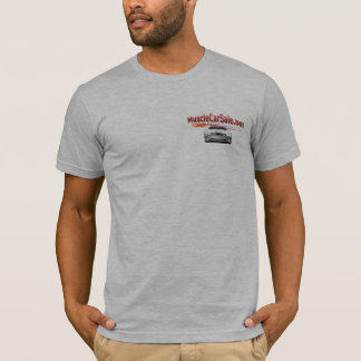 Muscle Car Sale Classic Fitted Grey T-Shirt