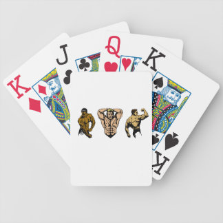 Muscle Crew - Strike a Pose Bicycle Playing Cards