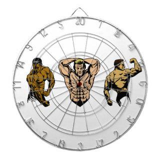 Muscle Crew - Strike a Pose Dartboard
