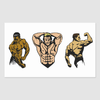 Muscle Crew - Strike a Pose Sticker